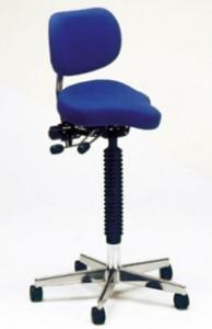 chaise Vela Midi          Hauteur 60cm-86 cm 5 pieds fixes avec rotation sans blocage inclinaison reglable                  Dés 998 Fr